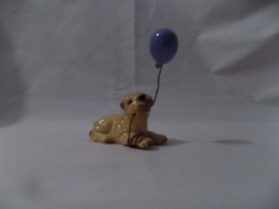 Hagen Renaker Shar pei with ballon