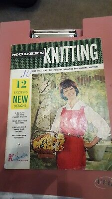 Vintage magazine for machine knitters 1962