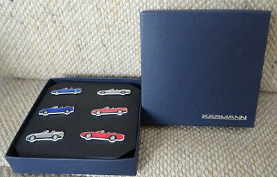 Pin Collection | 6 pins in Schachtel | Karmann | neu und OVP