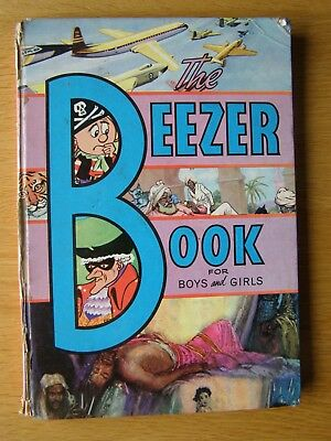 The Beezer Book Annual 1962 Good Condition for Age