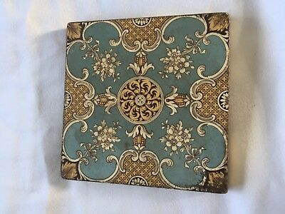 Mntons China Works decorative tile