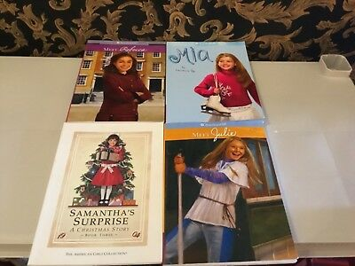 Lot Of 4 AMERICAN GIRL paper back Books 3 AG 1 book is Pleasant Co.
