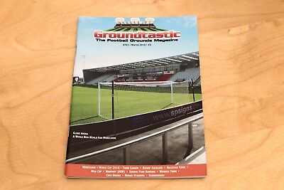Groundtastic - The Football Grounds Magazine - No 63 Winter 2010