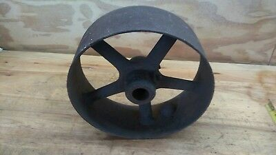 "12"" flat belt pulley, Hit miss engine, Line shaft, Threshing machine, Sawmill"