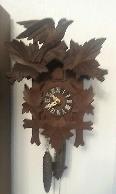 German Black Forest cuckoo clock Antique Clock vintage and collectable gwo