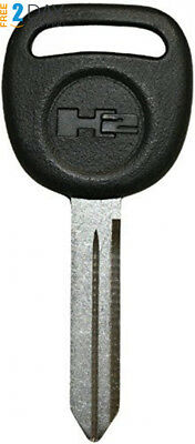 NEW HUMMER H2 Factory Original UNCUT Logo Key Blank - Made in the USA 15079519