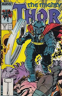 The Mighty Thor #381 Marvel Comics 1987***vg*** Bag & Board