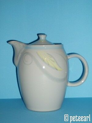1950s English Denby Peasant Ware Coffee Pot designed by Albert Colledge