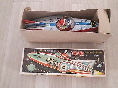 Flying Boat Friction * Vintage Tintoy *box