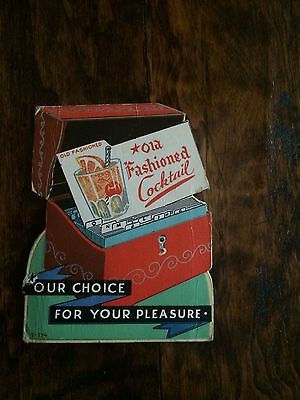 Vintage Carasal Lounge Stand Up Placard