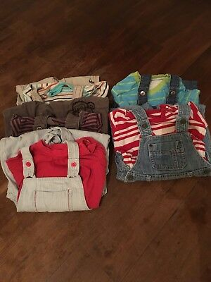 Baby Boy Dungaree Clothes Bundle 12-18 Months