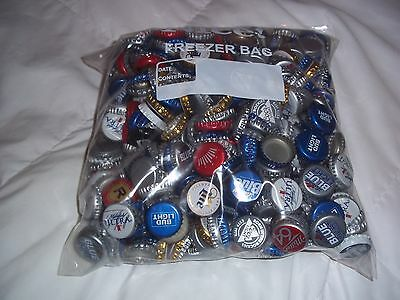400 Beer Bottle Caps No Dents Budweiser Miller Labatts Ultra Coors & More