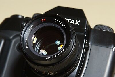 CARL ZEISS PLANAR f/1.4 50mm  CONTAX/YASHICA FITTING -  IN EXCELLENT CONDITION