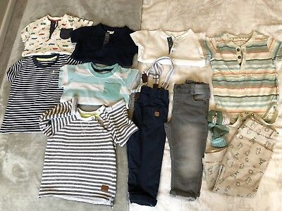 Boys Bundle 9-12 Months Trousers Skinny Jeans Tshirts
