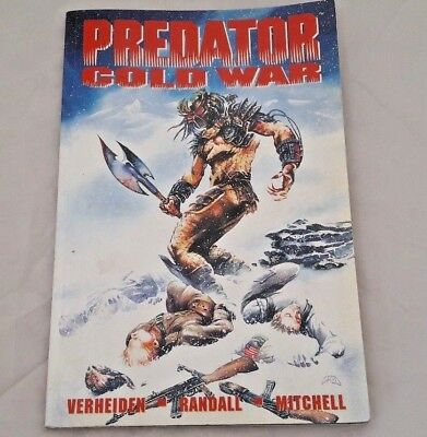 PREDATOR COLD WAR Graphic Novel