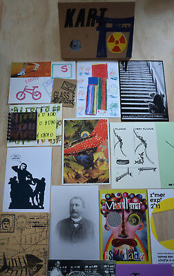 KART 26  (Mail Art, FLUXUS ,Visual Poetry, DADA, Zine in a box)