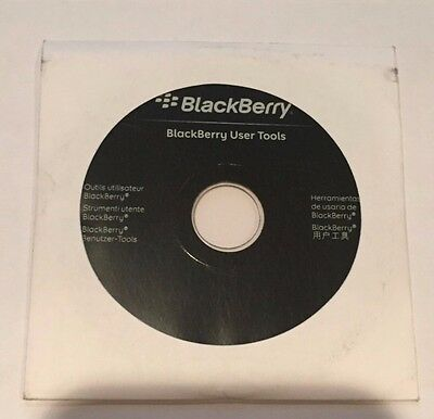 Genuine Blackberry User Tools CD Disc Software (2006) - Scratch-free