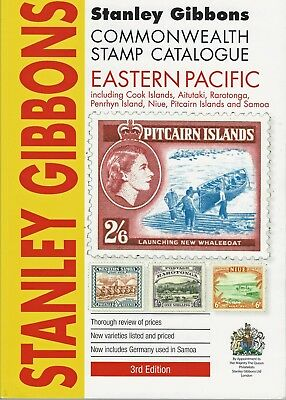 Stanley Gibbons  2015 EASTERN PACIFIC Commonwealth Stamp Catalogue  3rd Edition