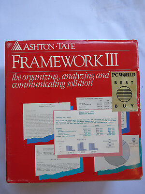 Framework III Manuals - Ashton Tate
