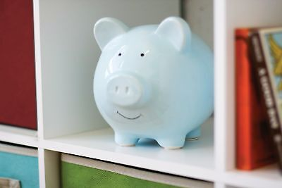 Ceramic Piggy Bank Kids Money Saving Banks Makes a Perfect Unique Gift Nursery