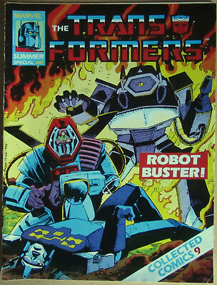 Transformers Summer Special 1988 Collected Comics #9 Marvel UK Robot-Buster!