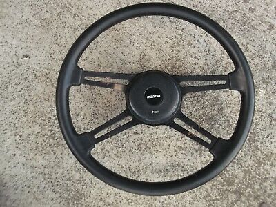 Mazda Early 323 Steering Wheel - Can post