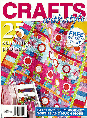 Crafts With Style  Magazine    Pattern Sheet Inside