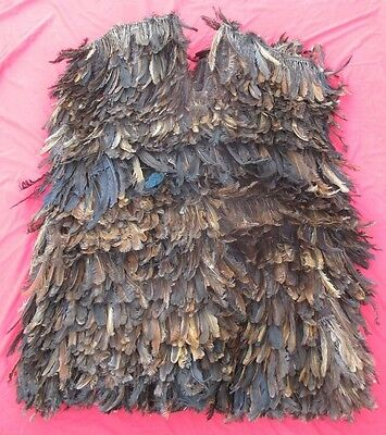 African Bamoun Tribe Ritual Shaman ~ Healer's Vest With Hundreds Of Feathers