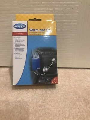 Playgro Warm and Go Insulated Baby Bottle Warmer for Car BNIB RRP $24.95.