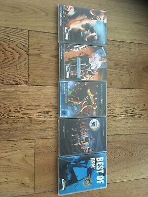 Les Mills RPM DVD/ CD & Choreography Notes Selling As Bundle (5 Releases)