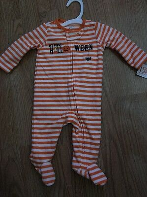 NWT Baby Boy Girl Size 3 Months Carter's One-Piece Outfit>My First Halloween