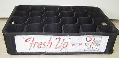 1940's 7UP Rubber Crate Carrier or Case Seven Up 7 up
