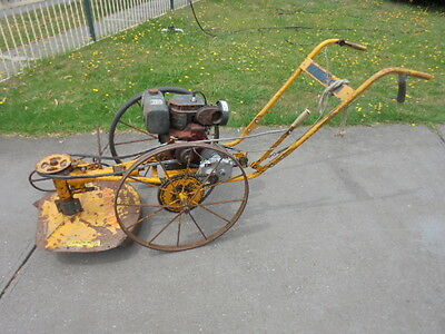 Vintage MOBILCO Slasher Mower - collectable, mancave , display,