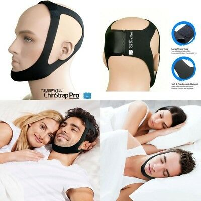 Chin Strap Pro - Anti Snoring Device, Aid To Stop Snoring