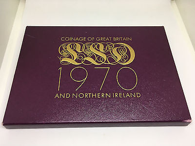 1970 Coinage of Great Britain & Northern Ireland 8 Coin Proof Set
