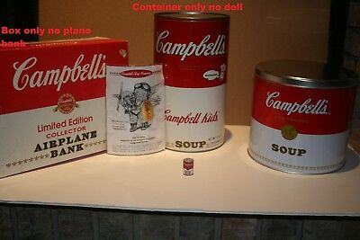 Campbells Soup Collectible Tins/containers