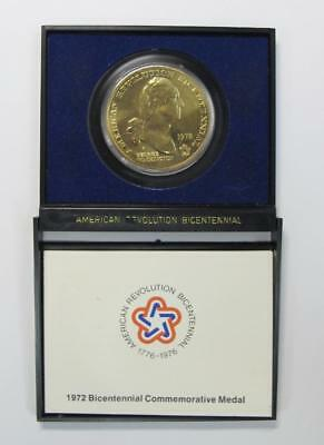 1972 U.S. The American Revolution Bicentennial Medal * In Display Case