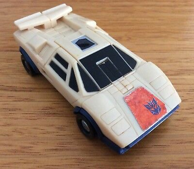Breakdown Original Transformers Vehicle 1986