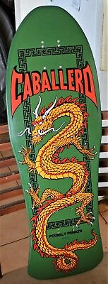 POWELL PERALTA deck skateboard* CAB DRAGON (green)*immaculate