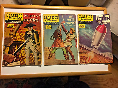 Classics Illustrated#100-102-105-109-128-137-139-143-144-149-159-162-163-164-165