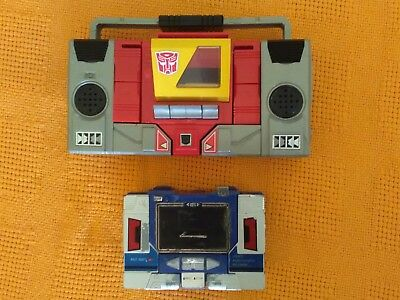 vintage original g1 blaster an soundwave transformers