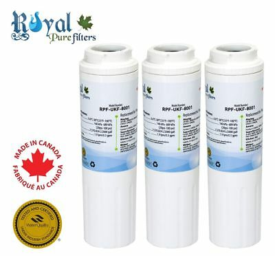 3Pack Royal Pure Filters Replacement Kenmore/Maytag/Whirlpool EFF-6007A,UKF-8001