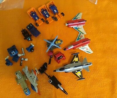 mixed lot of  g1 g2 transfomers gobot parts