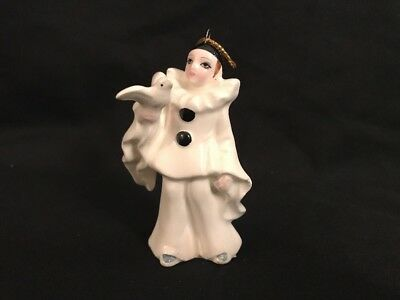 Schmid Pierrot Love French Clown Michael Oaks Christmas Tree Ornament Vintage