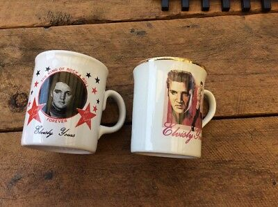 Elvis Mugs Made In england