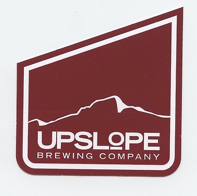 Upslope Burgundy Pale Ale Craft Micro Brewery Beer Sticker Decal Colorado