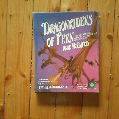 DRAGONRIDERS OF PERN BOARDGAME 1983 Very Good Condition
