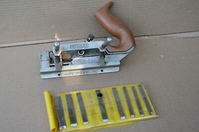 Vintage Stanley 13 052 plane and cutters