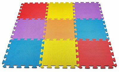 Baby Play Mat Foam Floor Puzzle Toddler Activity Playmat Kids 10 Square Ft