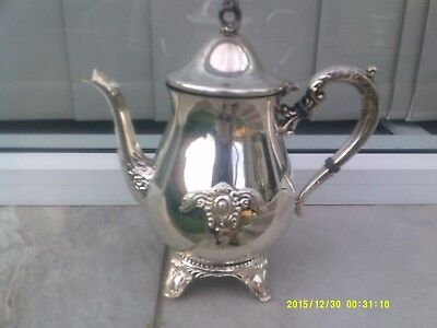 "Large ""viners"" Genuine Silverplate Pot"